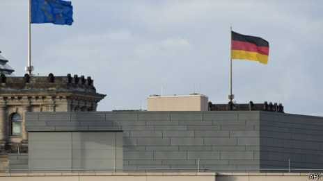 Embaixada americana em Berlim   Foto: AFP