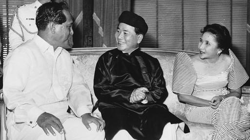 Ngô Đình Diệm thăm Philippines hồi năm 1958