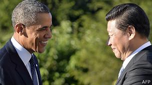 Los presidentes de China y Estados Unidos