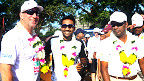 Ian Botham and Mahela Jayawardene