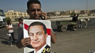 Сторонник Мубарака