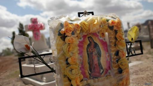 cemitério em Juarez   Getty Images