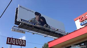 Campaña publicitaria en Los Ángeles