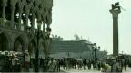 Лайнер в центре Венеции