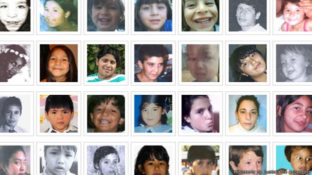 Imagen: Registro Nacional de Información de Personas Menores Extraviadas de Argentina