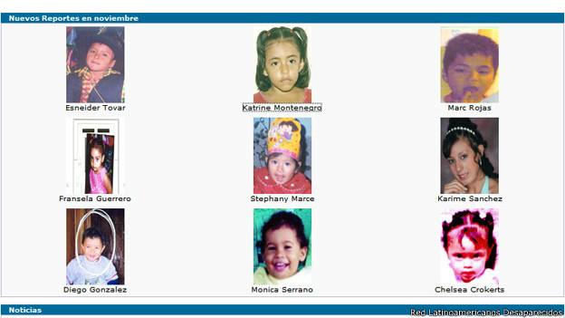 Imagen: Red Latinoamericanos Desaparecidos