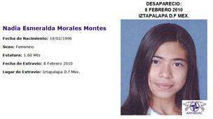 Imagen: Asociación Mexicana de Niños Robados y Desaparecidos