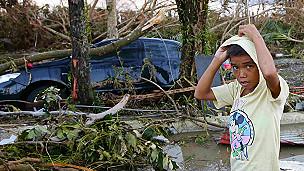 Tifón Haiyán en Filipinas