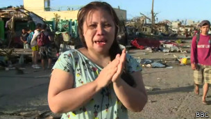 Beverly Buenconsejo, superviviente del tifón Haiyan en Filipinas