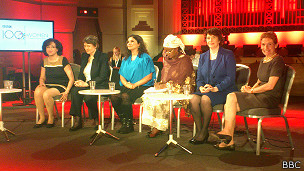 Mujeres panelistas