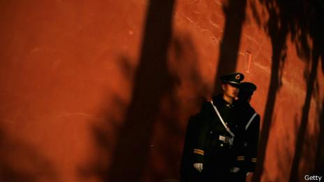 北京街头武警战士(12/11/2013)