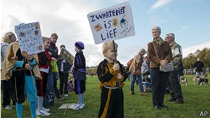 Marcha a favor de Zwarte Piet