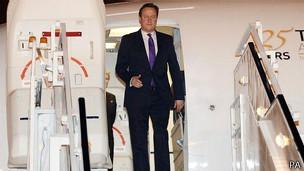 David Cameron, primer ministro inglés