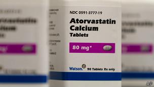 Estatina, medicamento para el colesterol