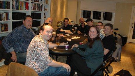 Vanessa Fox jugando póker