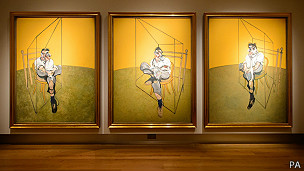 tríptico de Francis Bacon
