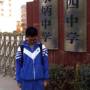 被退学后的杨辉(2013年11月18日)