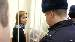 Activista rusa de Greenpeace