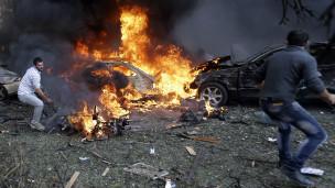 Ledakan besar hantam Kedutaan Iran di Beirut