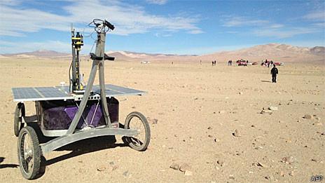 Nasa testa robô Zoe no deserto do Atacama (AFP/Getty)