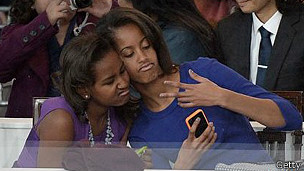 Hijas del presidente de EE.UU. Barack Obama