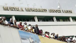 Aeropuerto de Lagos en Nigeria