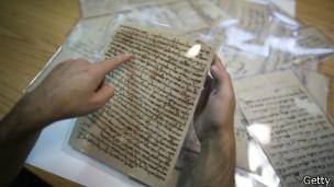 Pergaminos judíos en Afganistán