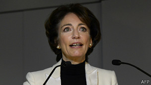 Ministra de Salud francesa