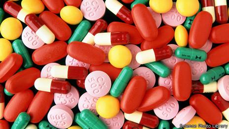 Mezcla de antibióticos