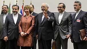 Negociadores del acuerdo