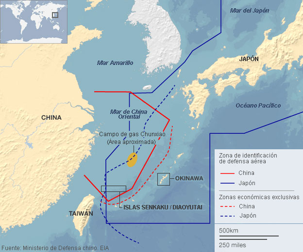 La peligrosa disputa entre China y Japón 131125232212_mapa-china