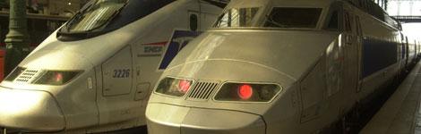 French TGV train