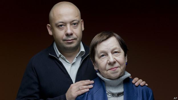 Светлана Кармалита и Алексей Герман-младший