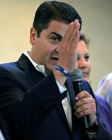 Juan Orlando Hernández, presidente electo de Honduras. Foto Getty Images.