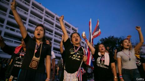 泰國示威者(27/11/2013)
