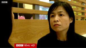Chị Nguyễn Thị Xuân trả lời phỏng vấn
