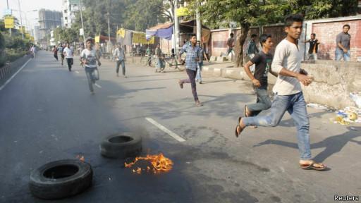 Protes di Bangladesh