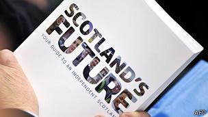 El Libro Blanco sobre la independencia de Escocia
