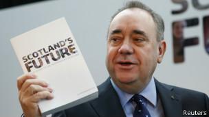 Alex Salmond, ministro principal escocés