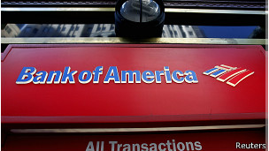 Cajero automático, Bank of America