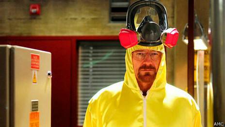 Escena de la serie Breaking Bad