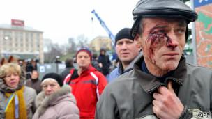 Protestos em Kiev (AFP)