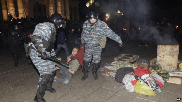 Protesto na Ucrânia (AP)