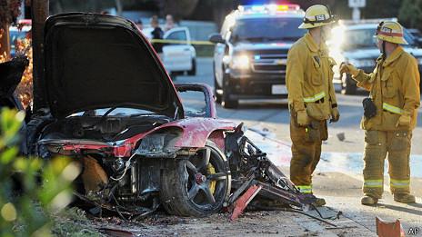 Accidente Paul Walker