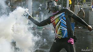 Biểu tình ở Bangkok