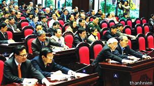 Lãnh đạo Việt Nam thông qua Hiến pháp