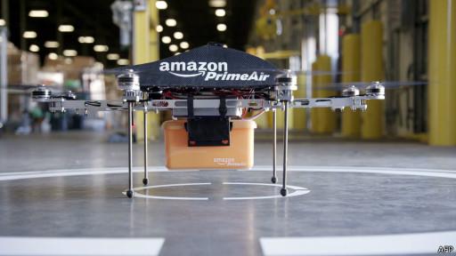 Беспилотный робот компании Amazon