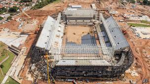 Arena Pantanal, em Cuiabá / Crédito da foto: AP