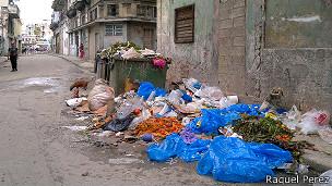 Basura en La Habana