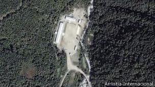 Campos de prisioneros en Corea del Norte